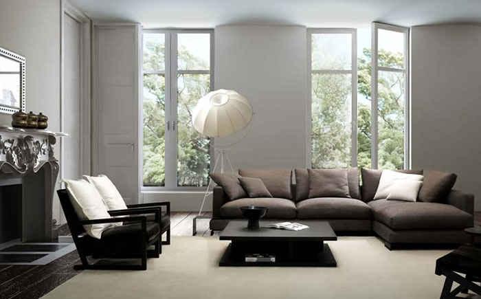 Группа мебели в интерьере