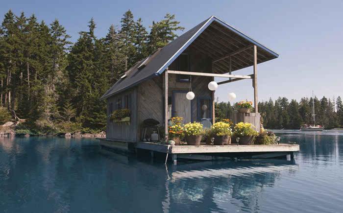 Плавающий домик Фоя и Луизы
