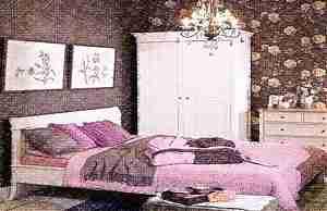 Сочетание розового и коричневого в интерьере