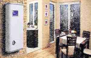 Отопление дома электрическим котлом